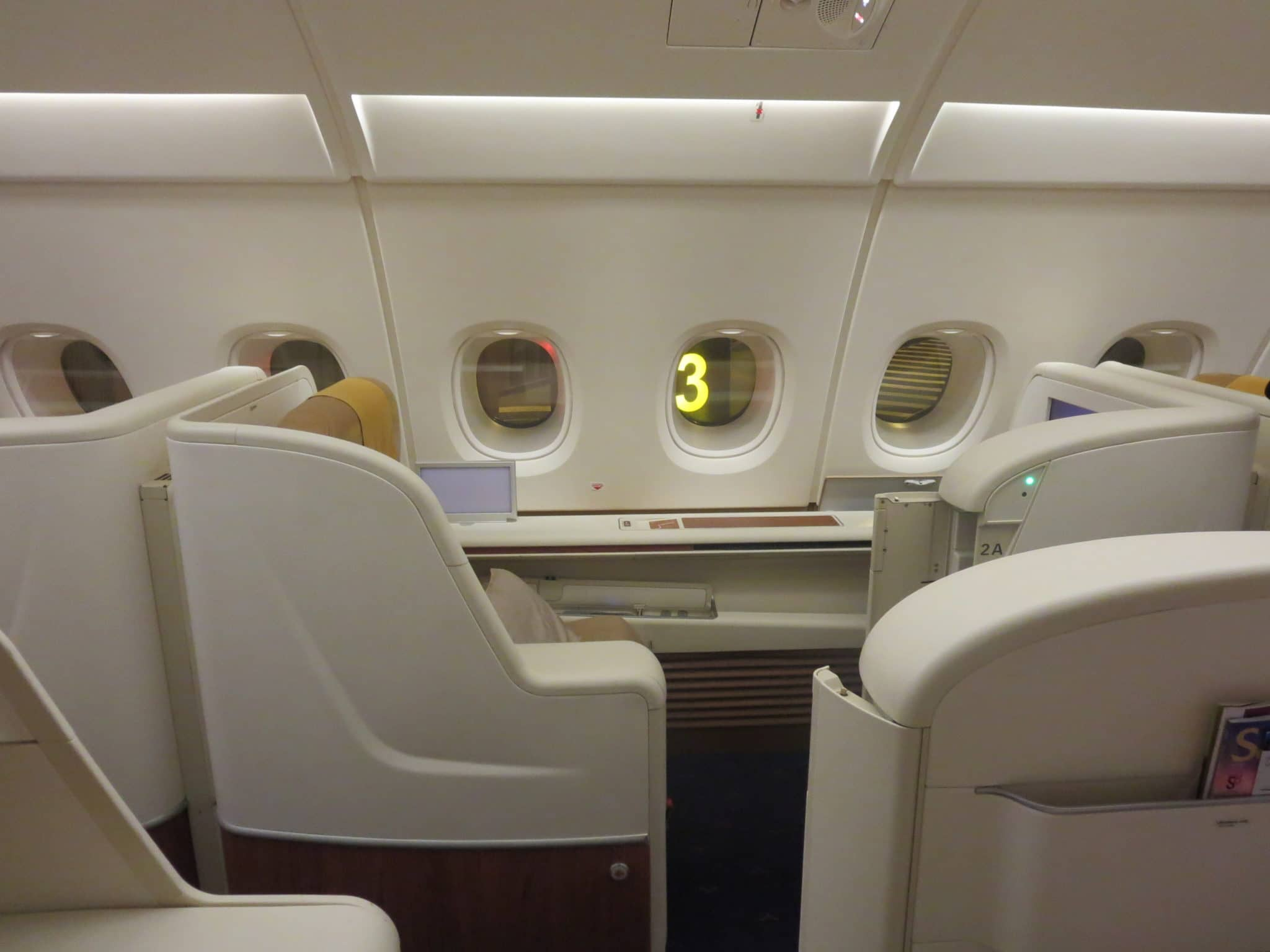 Thai Airways First Class A380 Sitz