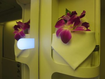 Thai Airways First Class Bad Boeing 747