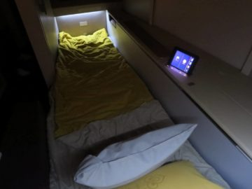 Thai Airways First Class Bett Boeing 747