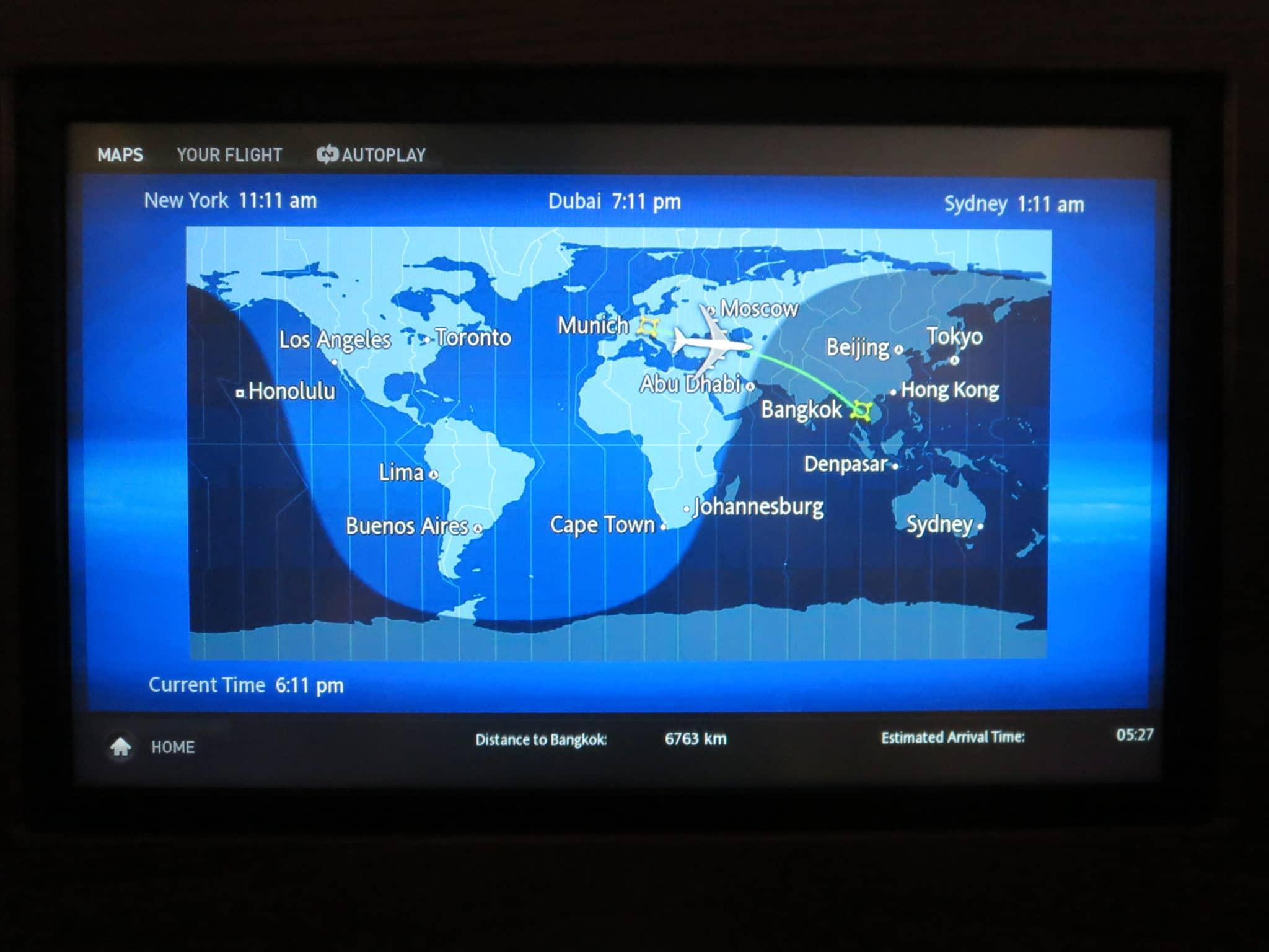 Thai Airways Flighshow München - Bangkok