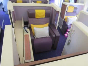 Thai Airways First Class Sitz Boeing 747
