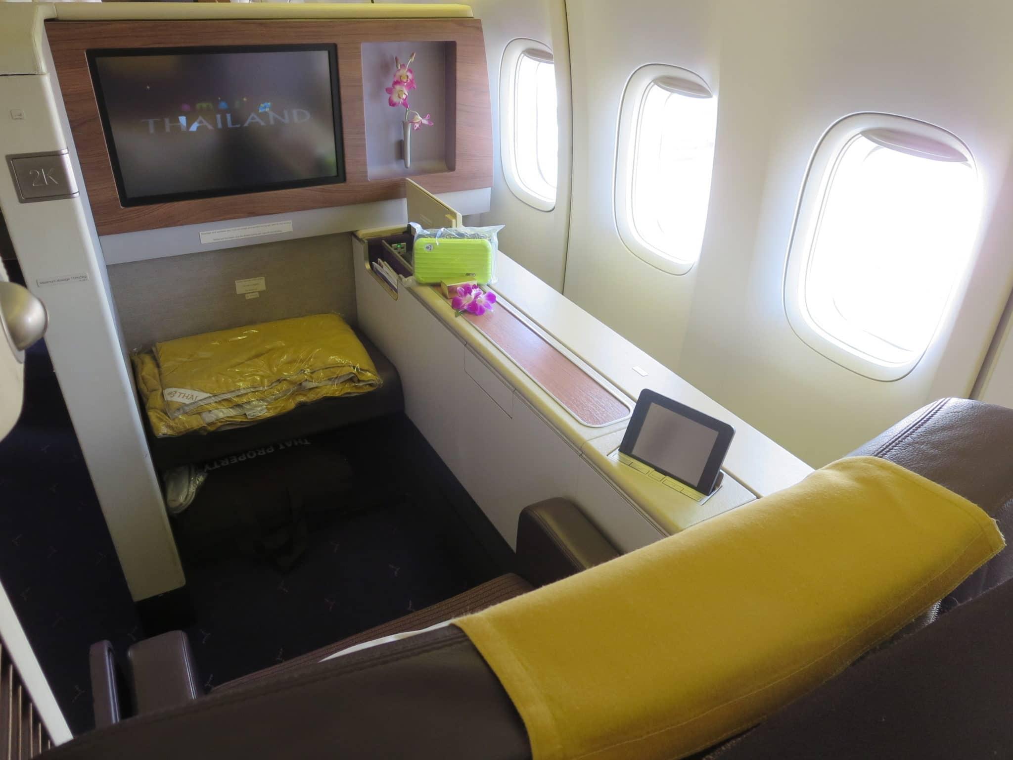 Thai Airways First Class Sitz Boeing 747