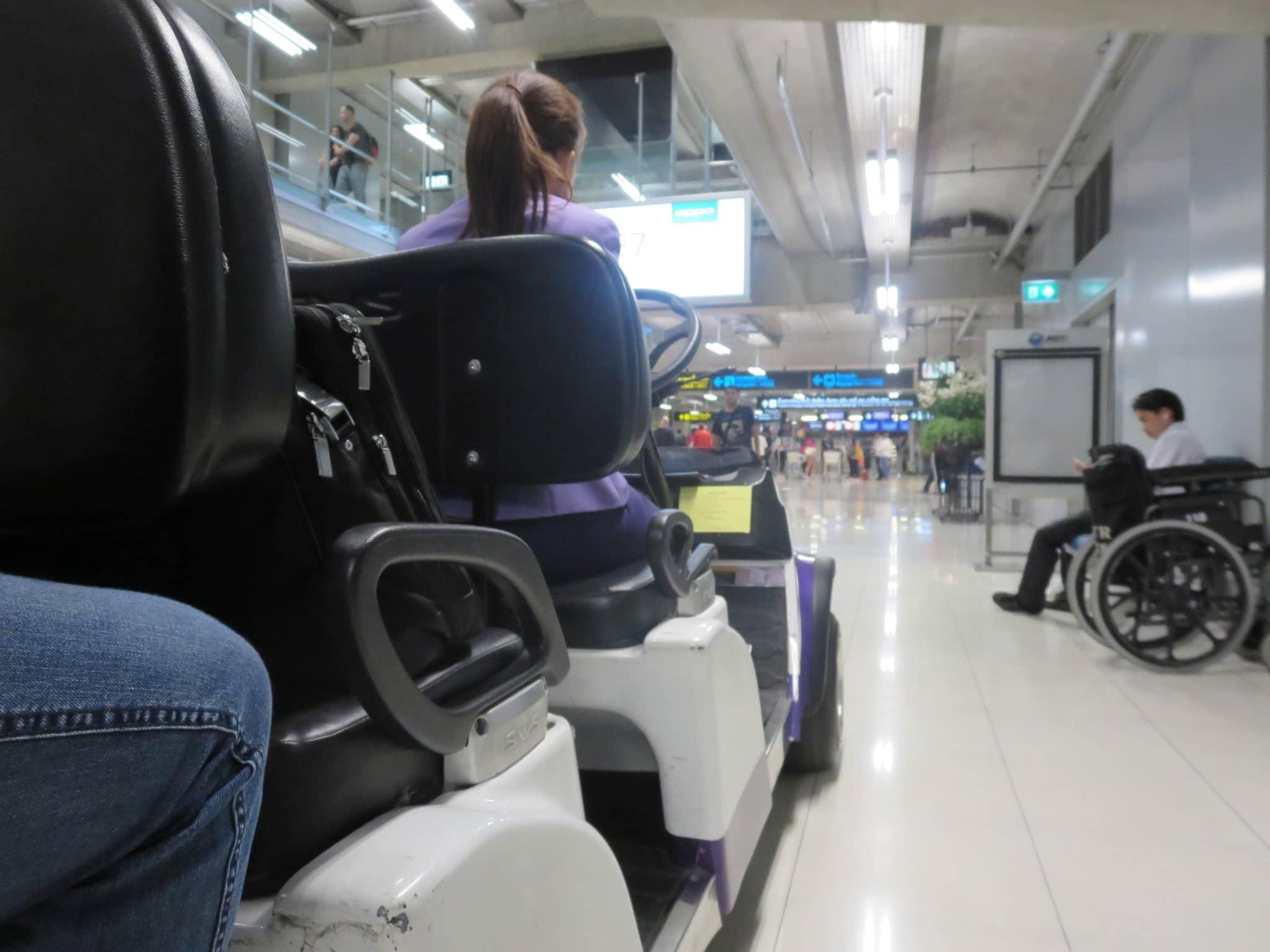 Thai Airways First Class Buggy