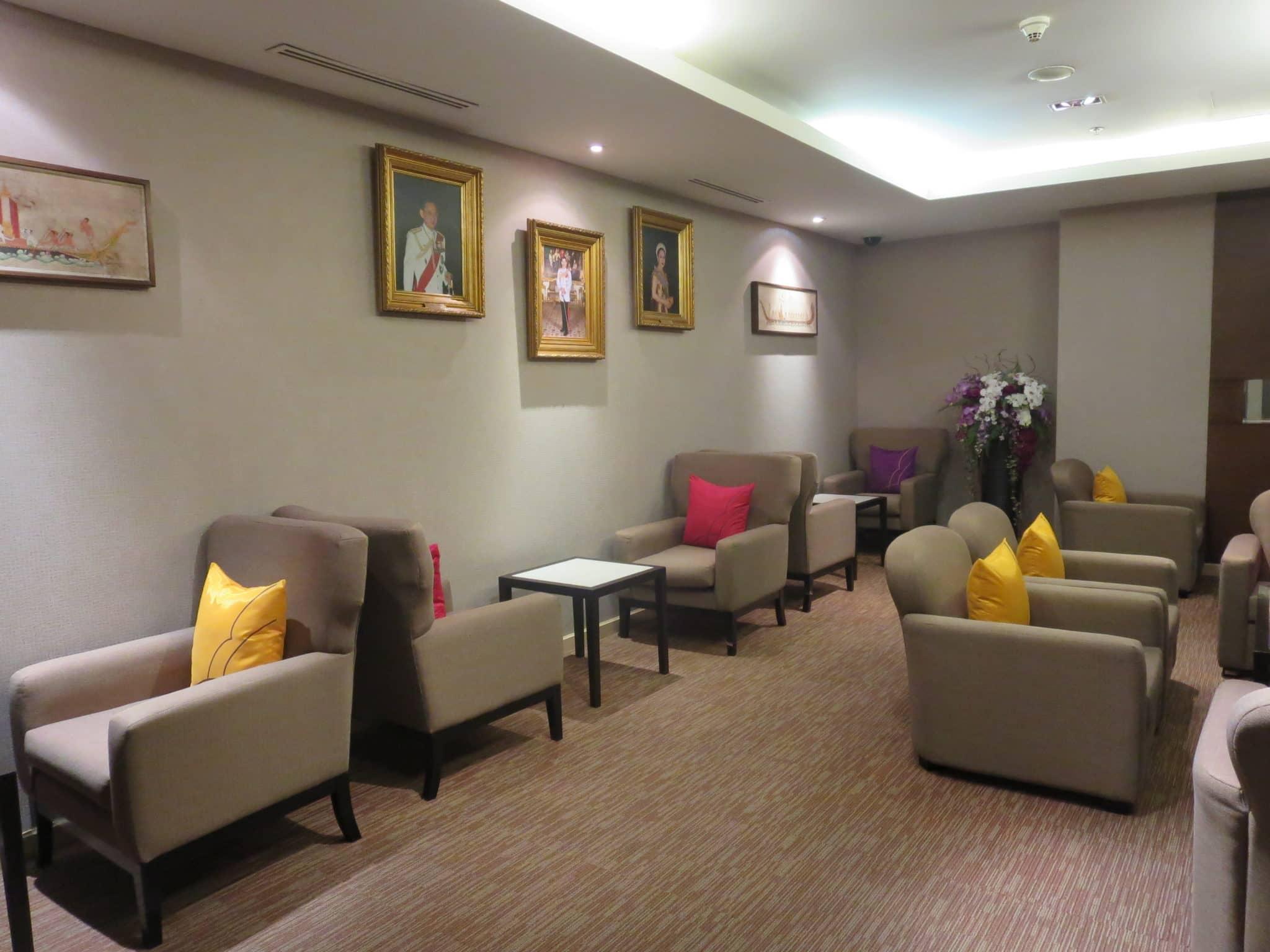 Thai Airways First Class Lounge VIP Raum