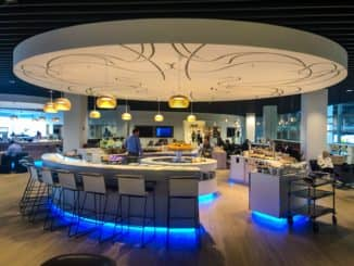 the loft by brussels airlines buffetbereich