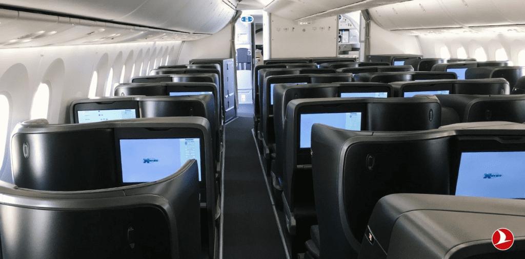 Die neue Business Class im Dreamliner von Turkish Airlines © Turkish Airlines