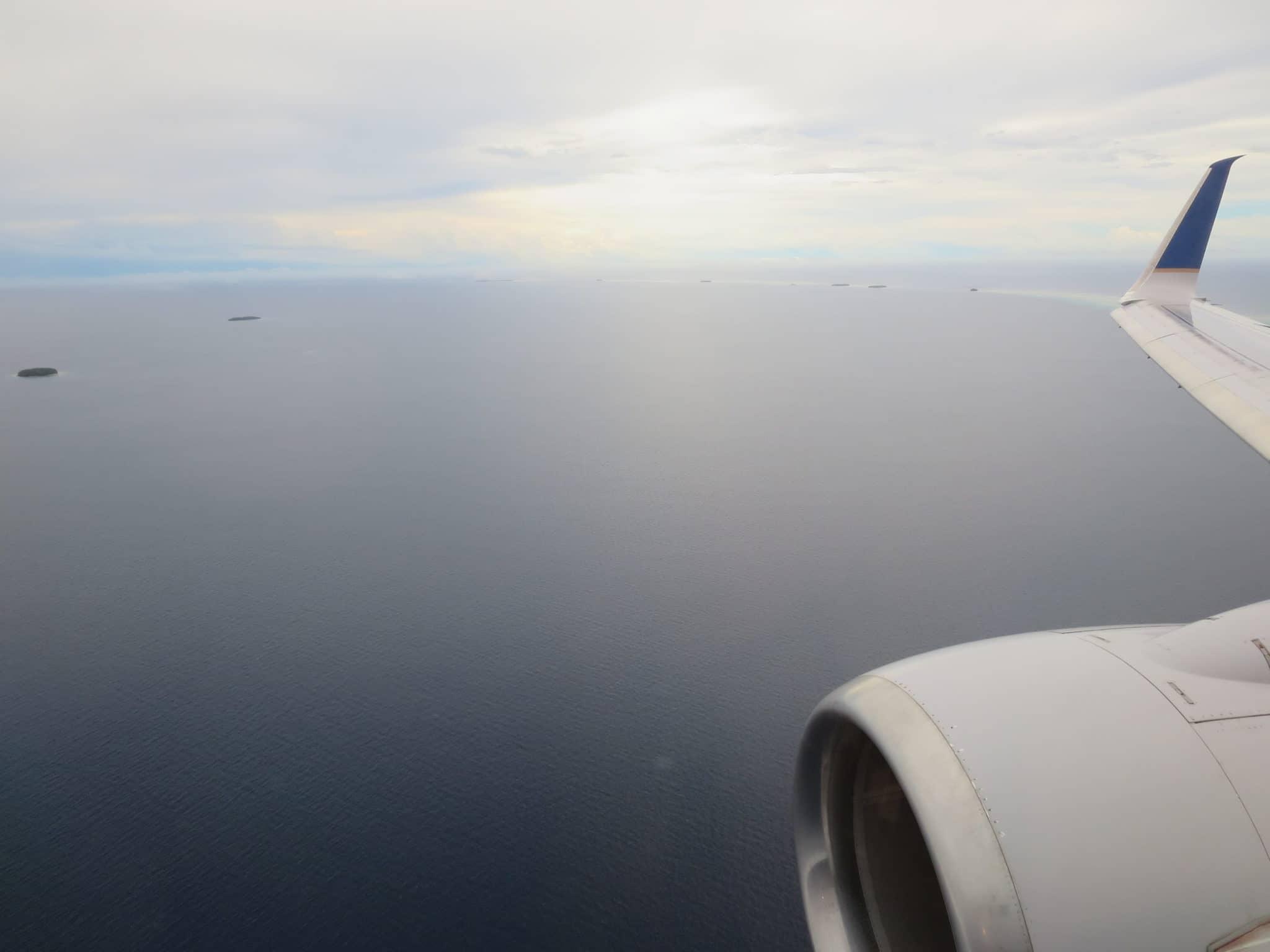 United Island Hopper Chuuk Landeanflug