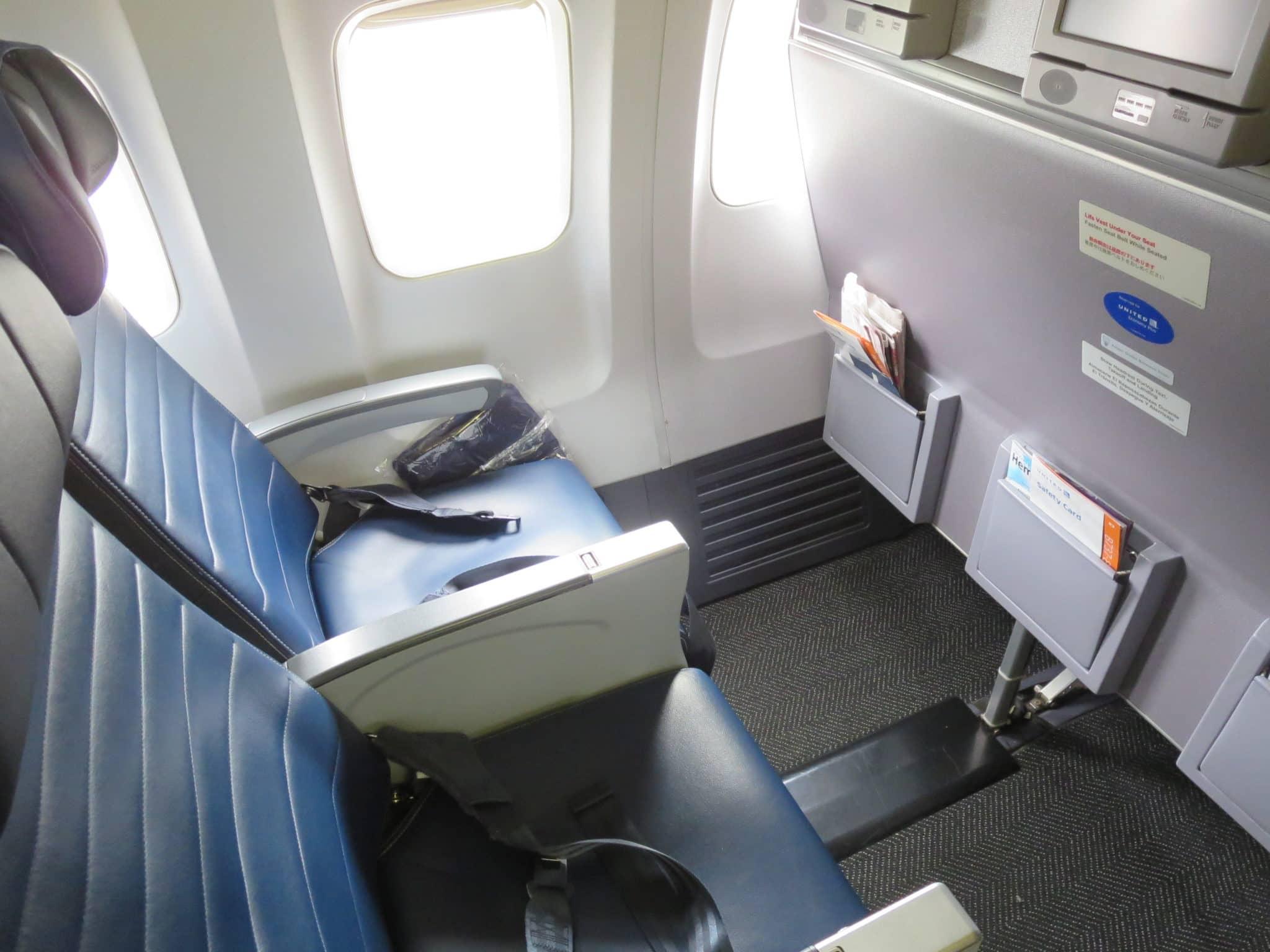 United Island Hopper Sitzreihe 7