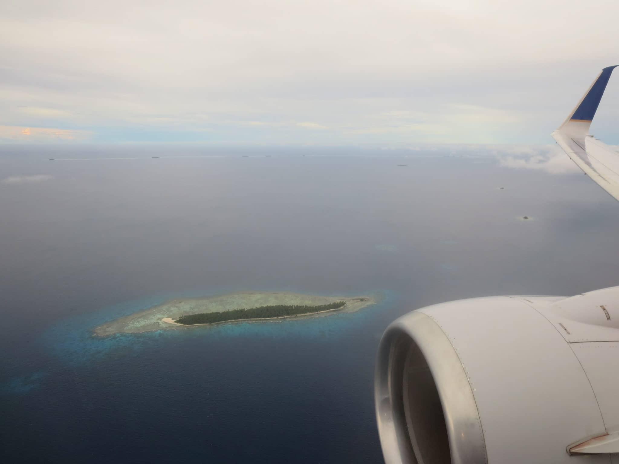 United Island Hopper Start Chuuk