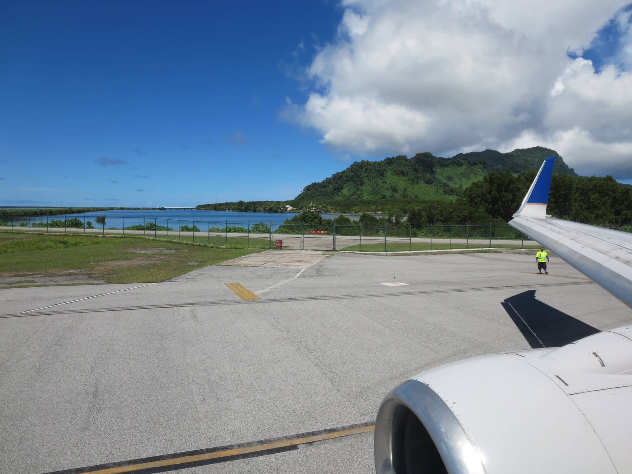 United Island Hopper Start Kosrae
