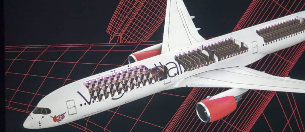 Virgin Atlantic A350-1000 &copy Virgin Atlantic
