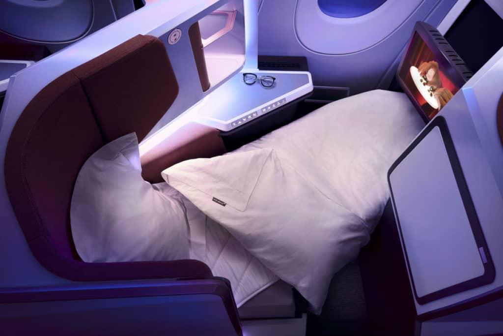 Virgin Atlantic Upper Class Bett &copy Virgin Atlantic