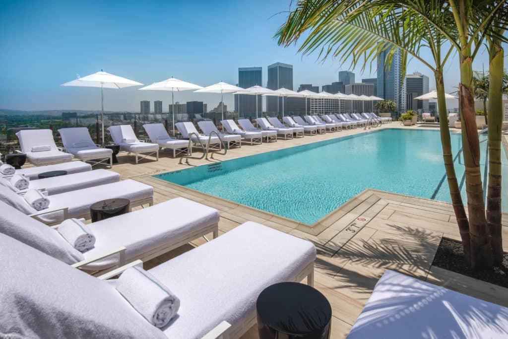 Das Waldorf Astoria Beverly Hills ist eines von etwa 30 Conrad Hotels weltweit © Waldorf Astoria